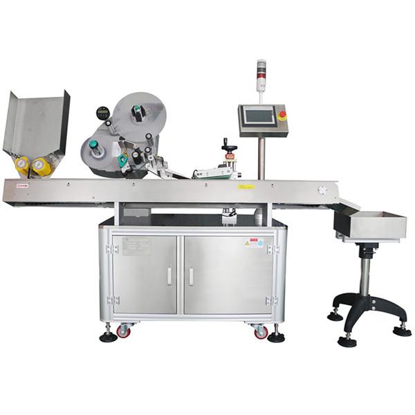 60-500 Pcs न्यूनतम अर्थव्यवस्था स्वचालित फार्मास्युटिकल बोतल शीशी लेबलिंग मशीन