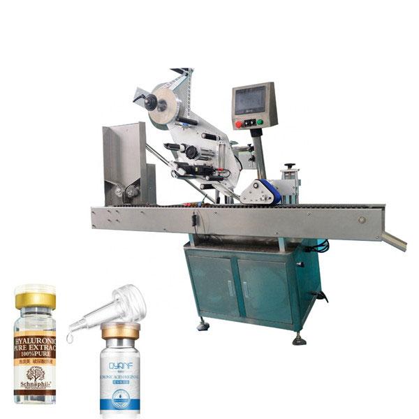 दौर की बोतल के लिए एल्यूमीनियम मिश्र धातु विपक्ष शीशी औद्योगिक लेबलिंग मशीन