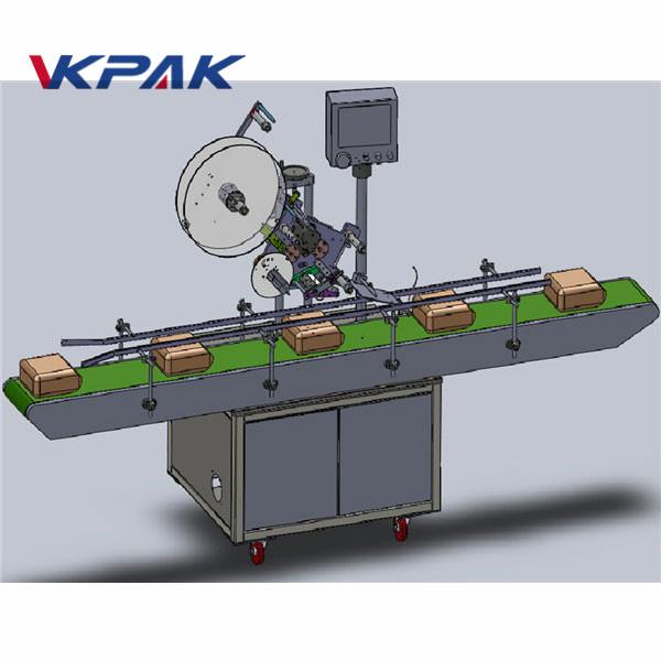स्वचालित खिला शीर्ष लेबलिंग मशीन