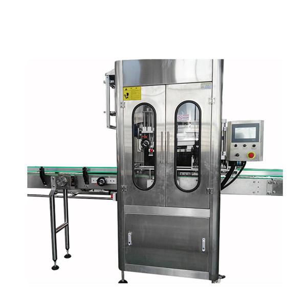 बोतल स्टेनलेस स्टील हटना आस्तीन लेबलिंग मशीन हटना आस्तीन लेबल applicator