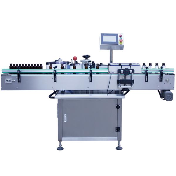 पालतू बोतलों के लिए स्वनिर्धारित स्वयं चिपकने वाला स्टीकर लेबलिंग मशीन