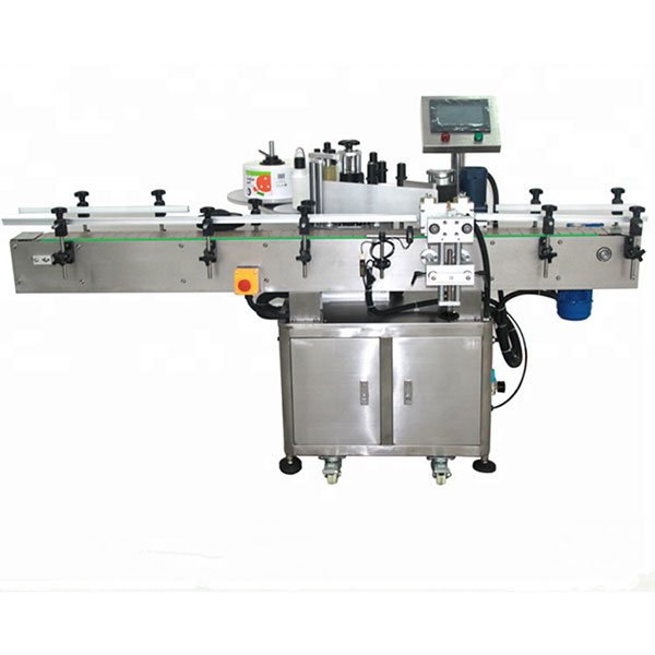 फ्रंट और बैक लेबलिंग मशीन, हाई स्पीड लेबलर 580KG वजन