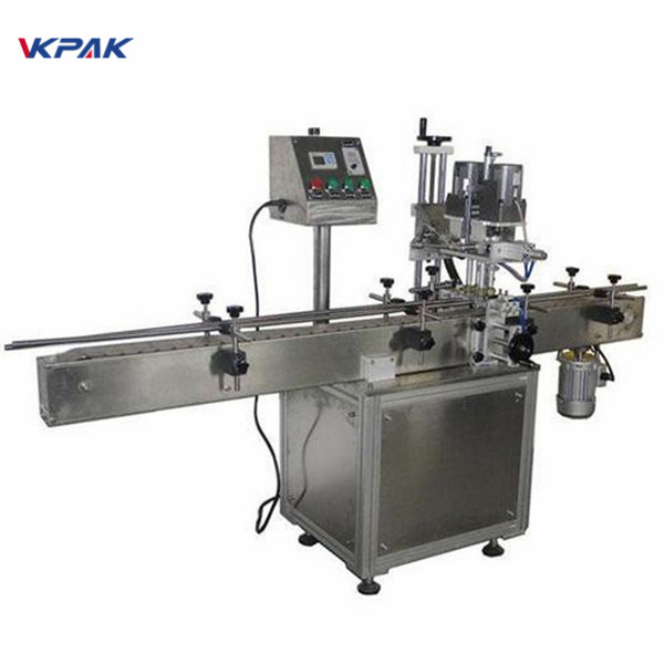 सौंदर्य प्रसाधन उत्पादों के लिए औद्योगिक डबल पक्षीय दौर बोतल लेबलिंग मशीन