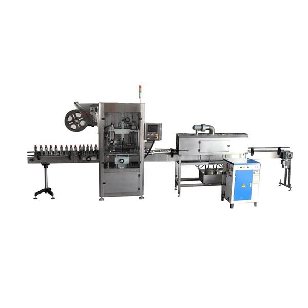 पीईटी कार्यात्मक स्टेनलेस हटना आस्तीन लेबल applicator मशीन