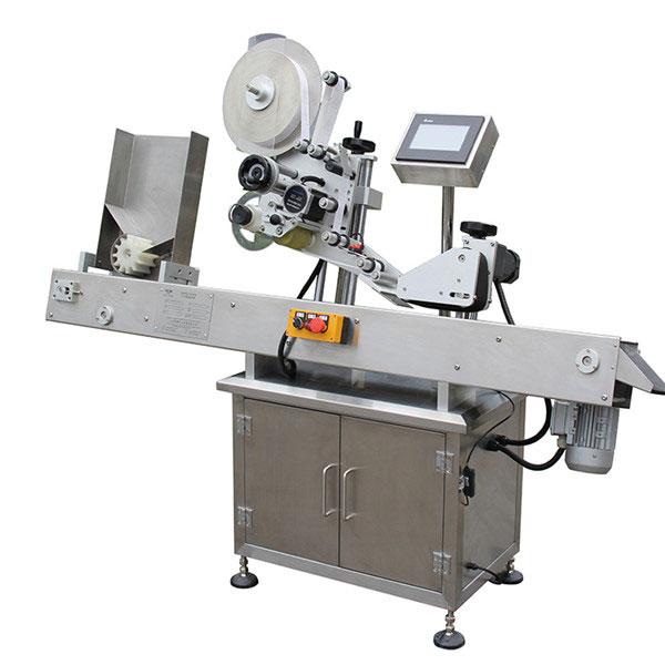 पीएलसी टच स्क्रीन कंट्रोल लेबल एप्लीकेटर मशीन