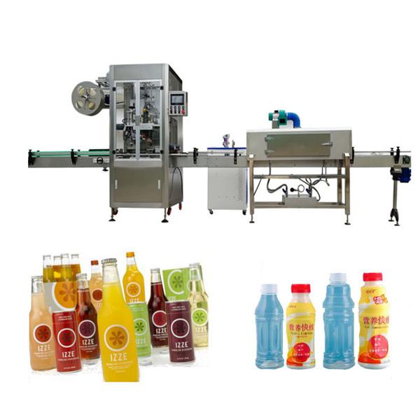 पालतू बोतल सिकोड़ें आस्तीन लेबलिंग मशीन सिंक सुरंग के साथ