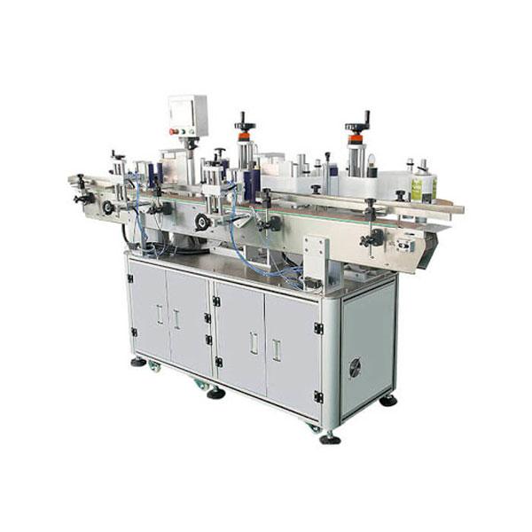 शैम्पू कॉस्मेटिक बोतल स्टिकर लेबलिंग मशीन 30-100 मिमी कंटेनर लंबाई