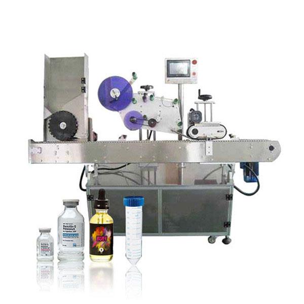 सीमेंस पीएलसी शीशी इमदादी नियंत्रक स्वचालित क्षैतिज लेबलिंग मशीन