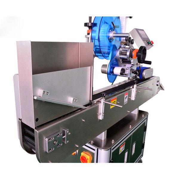 Ampoules के लिए स्टेनलेस स्टील शीशी स्टिकर लेबलिंग मशीन
