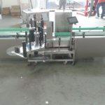 संग्रह सतह के साथ बुद्धिमान सीमेंस पीएलसी नियंत्रण स्वचालित लेबल मशीन