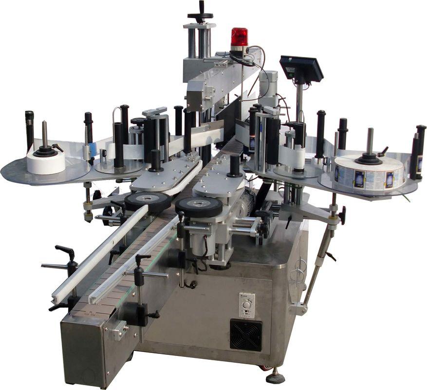 बैग कारखाने उच्च गति के लिए फ्लैट सतह स्वचालित लेबलिंग मशीन