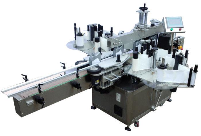 SUS304 स्टेनलेस स्टील अर्थव्यवस्था डबल साइड स्टीकर लेबलिंग मशीन