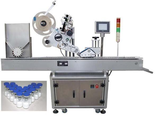 फार्मास्यूटिकल्स के लिए 10ml छोटी बोतल लेबलिंग मशीन