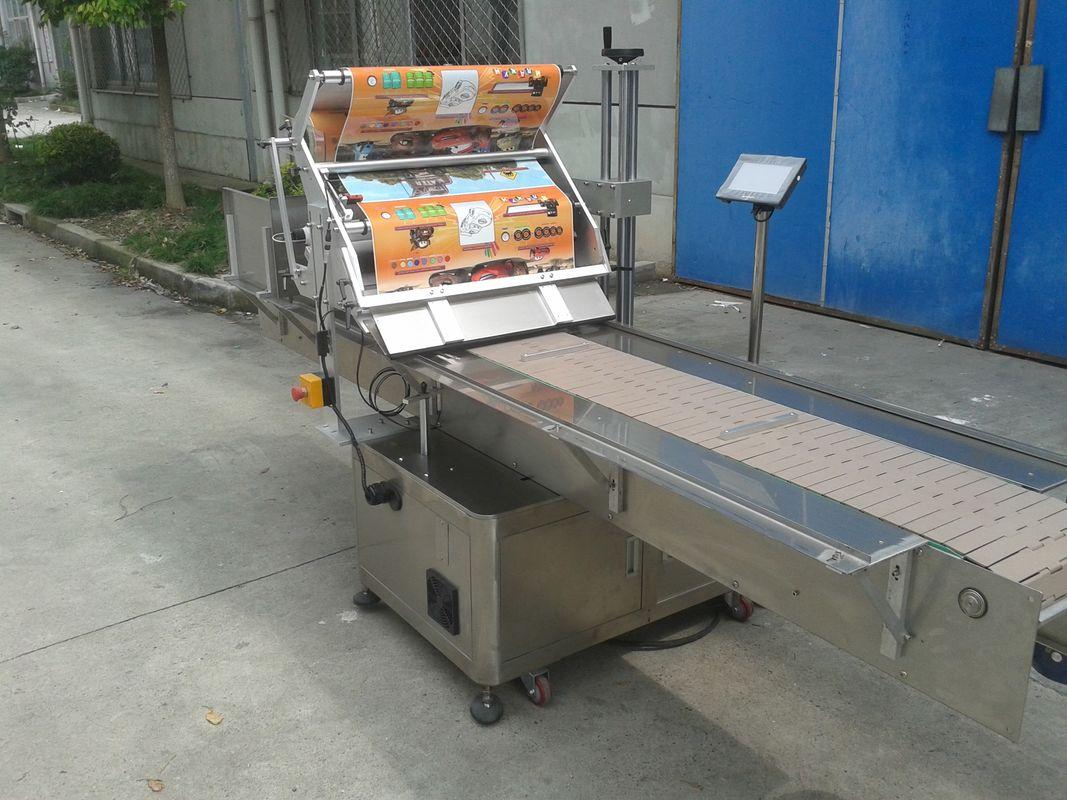 पेजिंग मशीन के साथ तालिका शीर्ष स्व चिपकने वाला स्टीकर फ्लैट सतह लेबल एप्लीकेटर