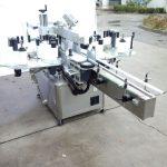 फ्रंट और बैक साइड के साथ ऑटोमैटिक टू साइड स्टिकर लेबलिंग मशीन