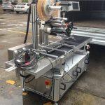 उच्च गति रोलर्स शीर्ष स्टीकर लेबल मशीन कदम मोटर नियंत्रण