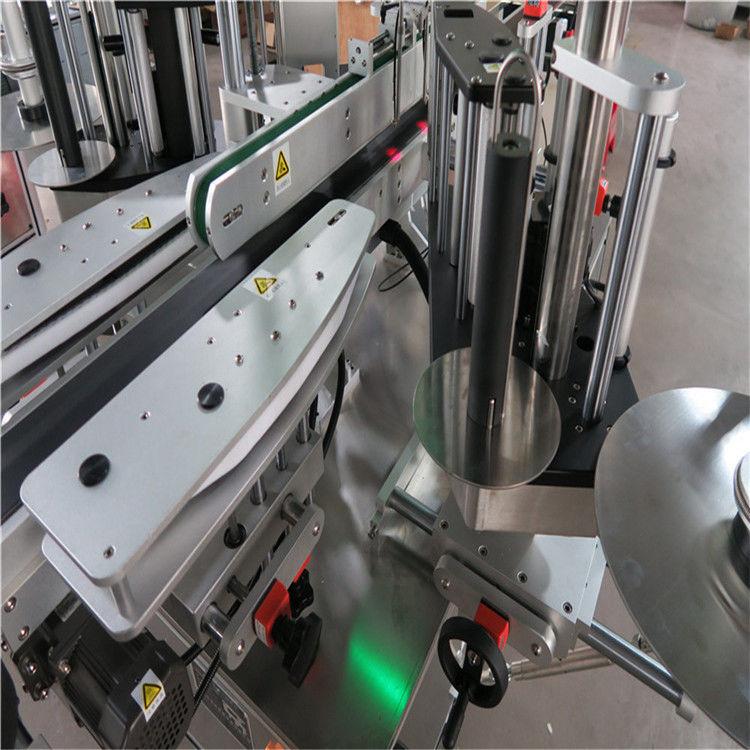 सीई स्वचालित स्टीकर लेबलिंग मशीन, फ्रंट और बैक बोतल लेबलर मशीन