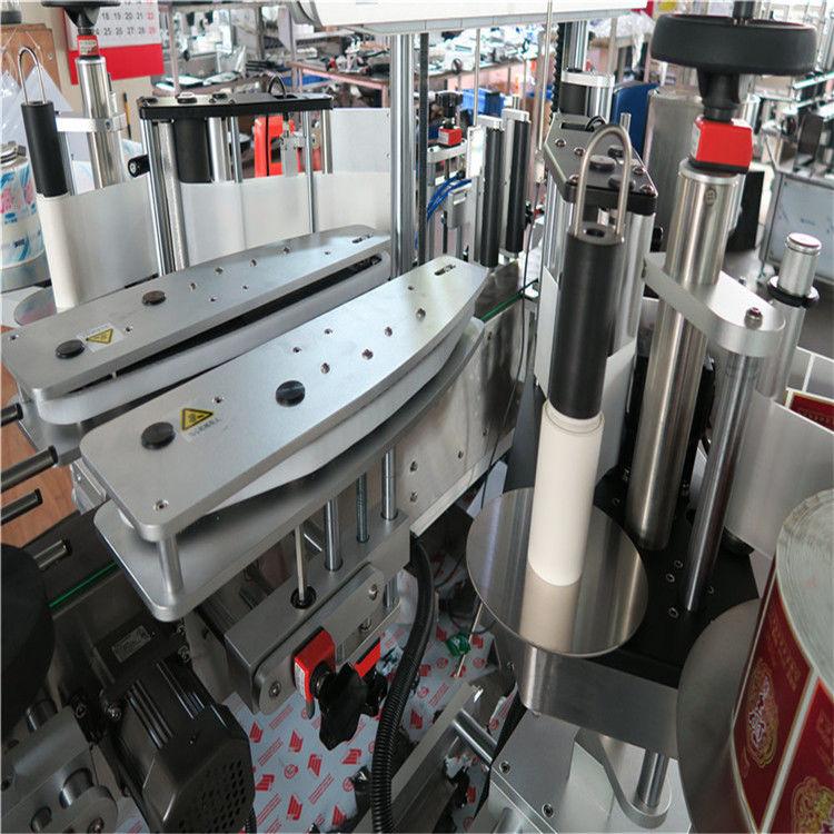 पूरी तरह से स्वचालित स्व चिपकने वाला स्टीकर लेबलिंग मशीन डबल साइडेड