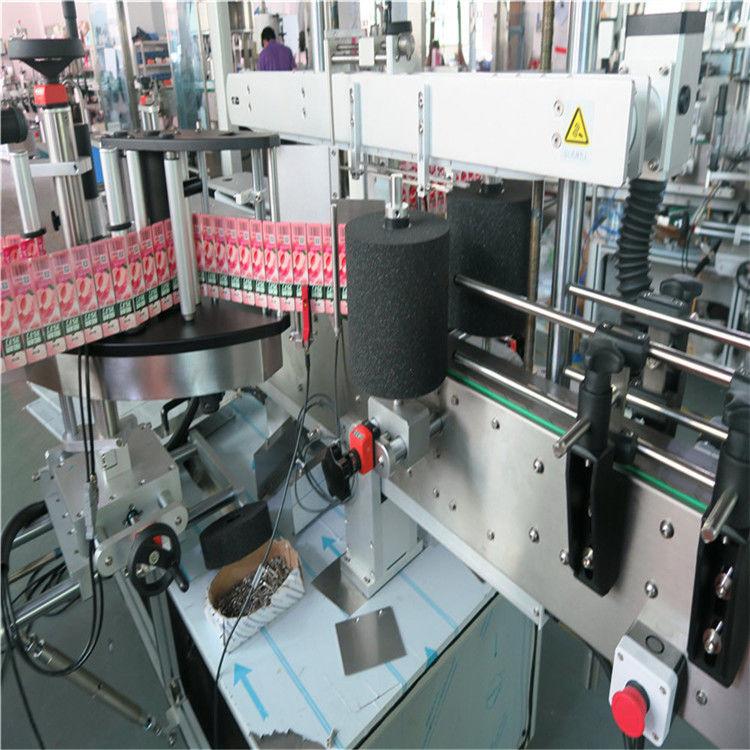 स्वचालित लुढ़का लेबल चिपकने वाला स्टीकर लेबलिंग मशीन 220V / 380V