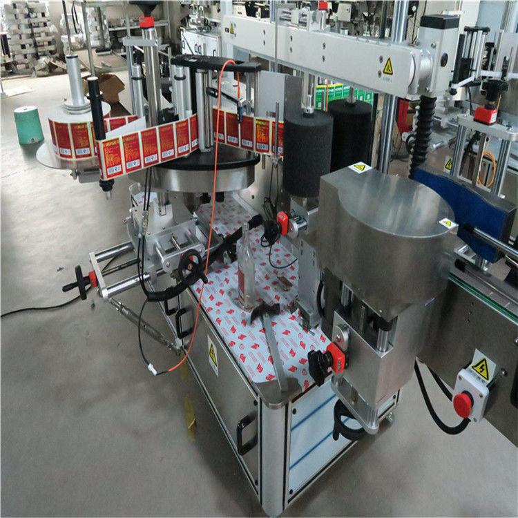 चिपचिपा स्वचालित स्टीकर लेबलिंग मशीन, ऑटो लेबलर मशीन