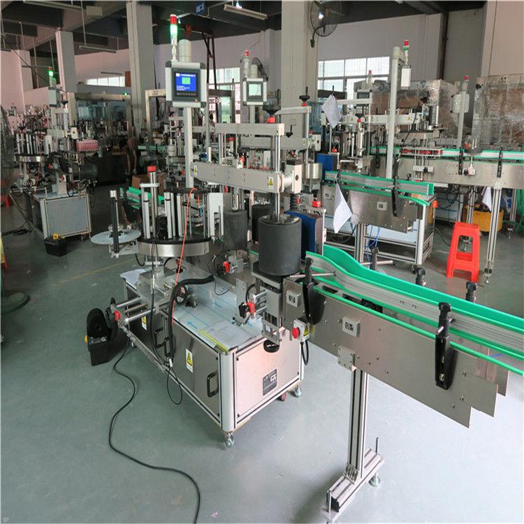 दौर पालतू बोतल लेबलिंग मशीन, स्वचालित लेबल एप्लीकेटर मशीन
