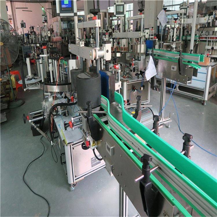 डबल साइड स्व चिपकने वाला स्टीकर बोतल लेबलिंग मशीन 190 मिमी ऊंचाई मैक्स