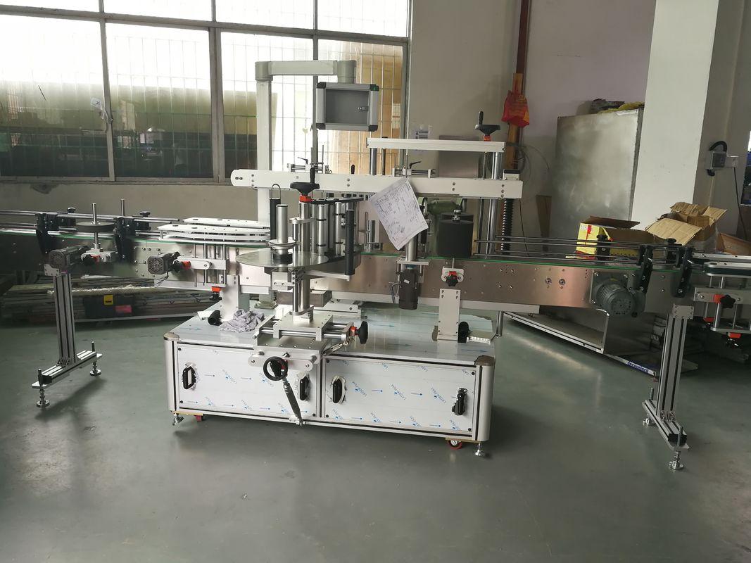 रस / शराब की बोतल स्वचालित स्टीकर लेबलिंग मशीन, स्वचालित लेबलर मशीन