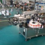 स्वचालित बोतल लेबलर डबल साइड स्टीकर लेबलिंग मशीन