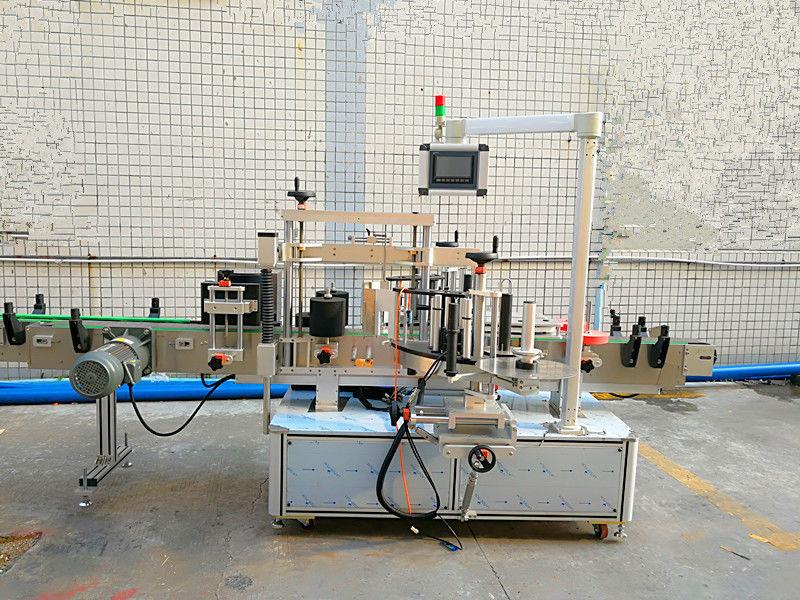 डबल साइड के साथ सरल स्वचालित फ्रंट और बैक लेबलिंग मशीन